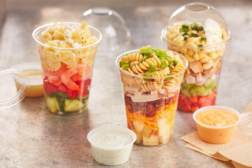 Turkey Apple Cheddar Pasta Salad Shaker